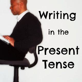 Are book reports written in present tense word